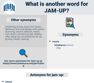 jam-up, synonym jam-up, another word for jam-up, words like jam-up, thesaurus jam-up