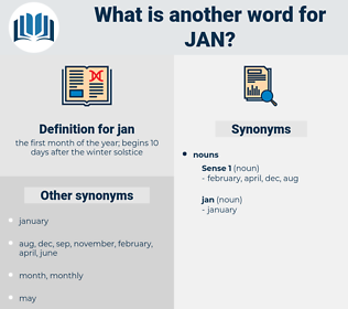 jan, synonym jan, another word for jan, words like jan, thesaurus jan