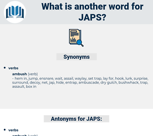 JAPS, synonym JAPS, another word for JAPS, words like JAPS, thesaurus JAPS