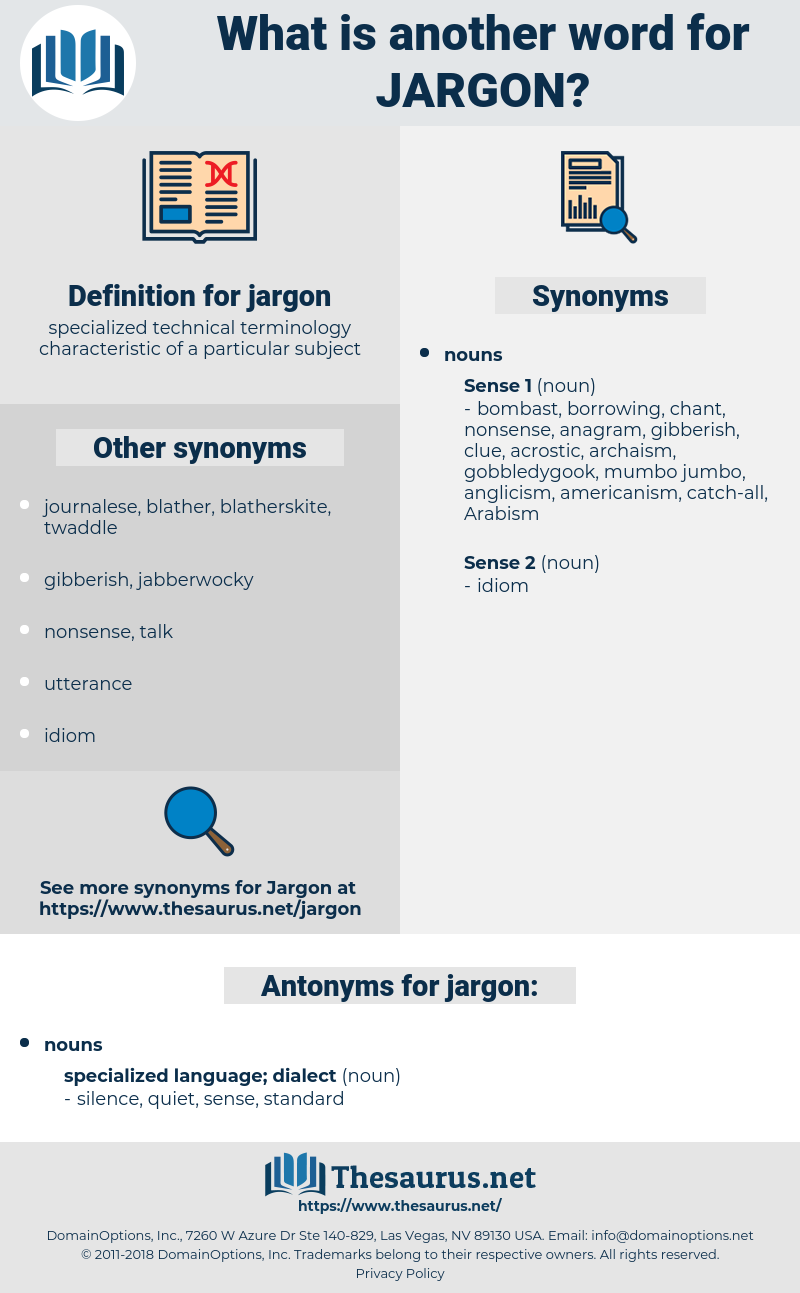 jargon, synonym jargon, another word for jargon, words like jargon, thesaurus jargon