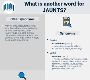 jaunts, synonym jaunts, another word for jaunts, words like jaunts, thesaurus jaunts