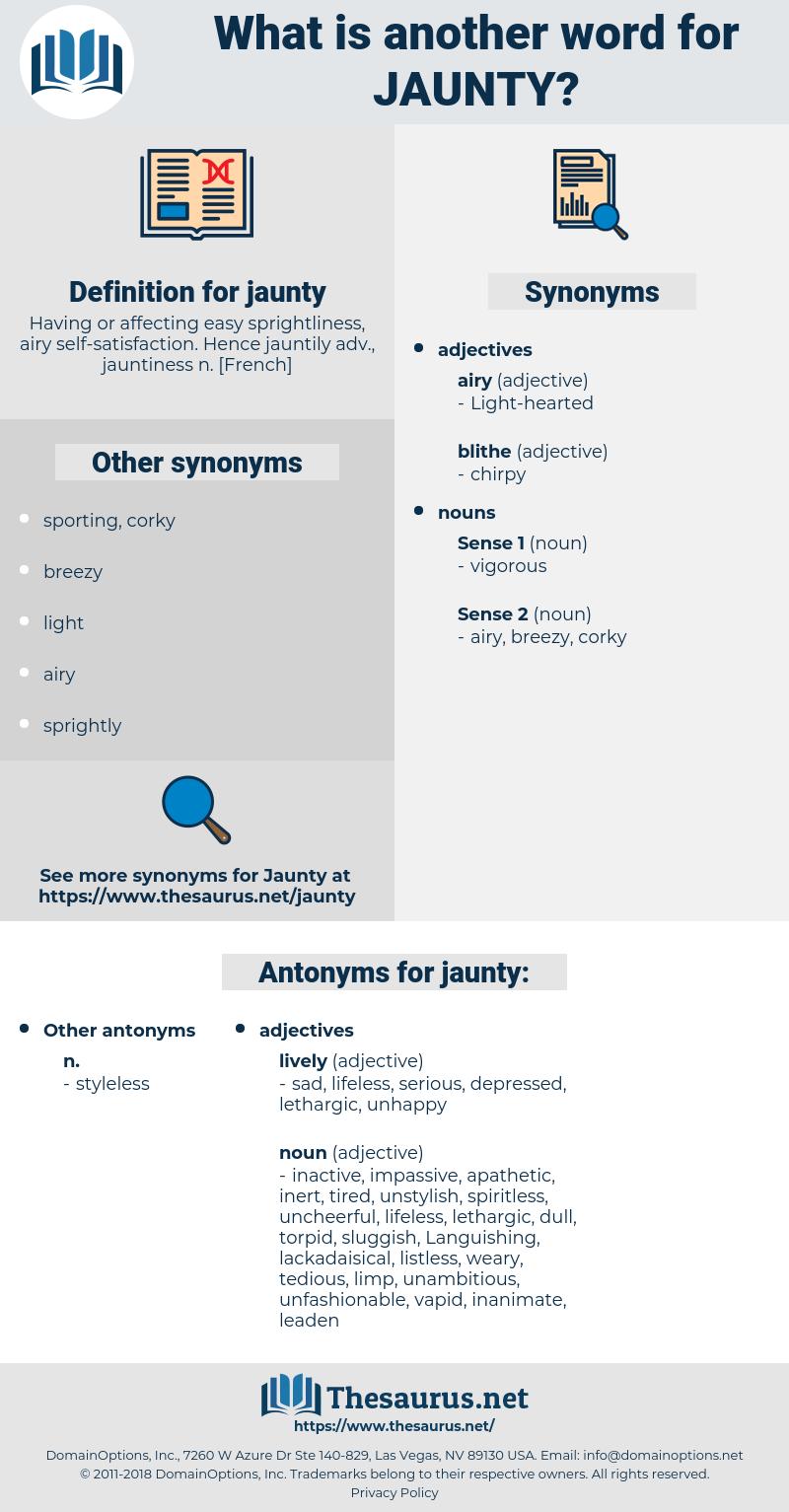 jaunty, synonym jaunty, another word for jaunty, words like jaunty, thesaurus jaunty