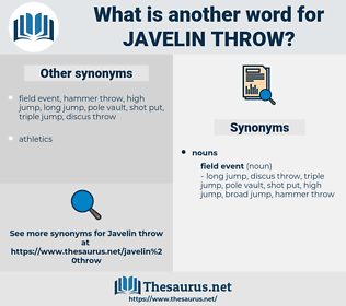 javelin throw, synonym javelin throw, another word for javelin throw, words like javelin throw, thesaurus javelin throw