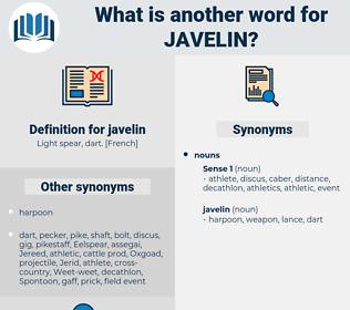 javelin, synonym javelin, another word for javelin, words like javelin, thesaurus javelin