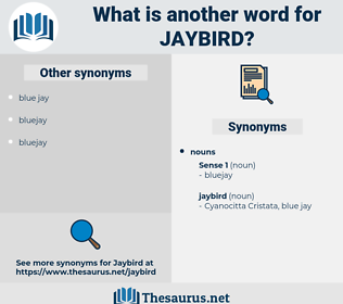 jaybird, synonym jaybird, another word for jaybird, words like jaybird, thesaurus jaybird