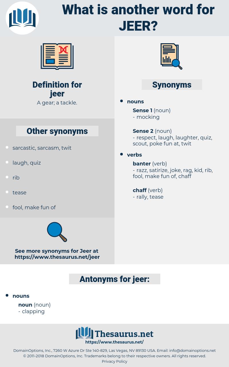 jeer, synonym jeer, another word for jeer, words like jeer, thesaurus jeer