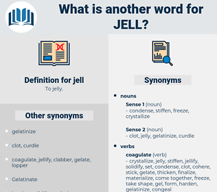 jell, synonym jell, another word for jell, words like jell, thesaurus jell