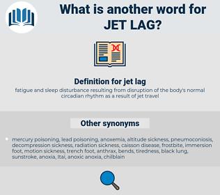 jet lag, synonym jet lag, another word for jet lag, words like jet lag, thesaurus jet lag