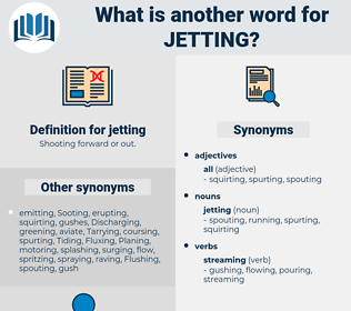jetting, synonym jetting, another word for jetting, words like jetting, thesaurus jetting
