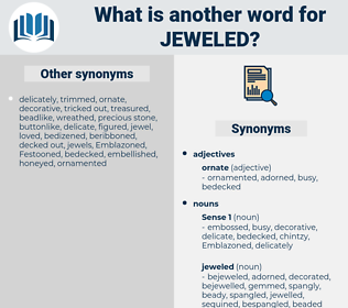 jeweled, synonym jeweled, another word for jeweled, words like jeweled, thesaurus jeweled