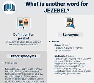 jezebel, synonym jezebel, another word for jezebel, words like jezebel, thesaurus jezebel