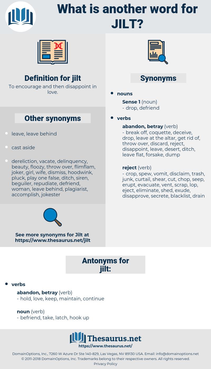 jilt, synonym jilt, another word for jilt, words like jilt, thesaurus jilt