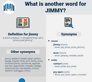 jimmy, synonym jimmy, another word for jimmy, words like jimmy, thesaurus jimmy