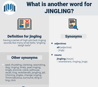 jingling, synonym jingling, another word for jingling, words like jingling, thesaurus jingling