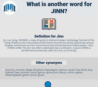 Jinn, synonym Jinn, another word for Jinn, words like Jinn, thesaurus Jinn