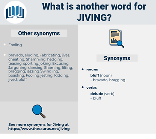 jiving, synonym jiving, another word for jiving, words like jiving, thesaurus jiving