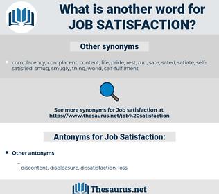 Job Satisfaction, synonym Job Satisfaction, another word for Job Satisfaction, words like Job Satisfaction, thesaurus Job Satisfaction