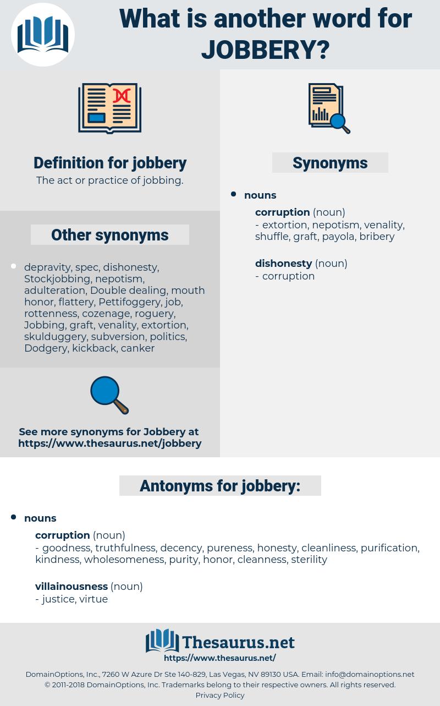 jobbery, synonym jobbery, another word for jobbery, words like jobbery, thesaurus jobbery