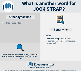 jock strap, synonym jock strap, another word for jock strap, words like jock strap, thesaurus jock strap