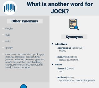 jock, synonym jock, another word for jock, words like jock, thesaurus jock