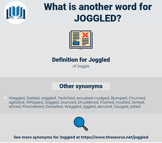 Joggled, synonym Joggled, another word for Joggled, words like Joggled, thesaurus Joggled
