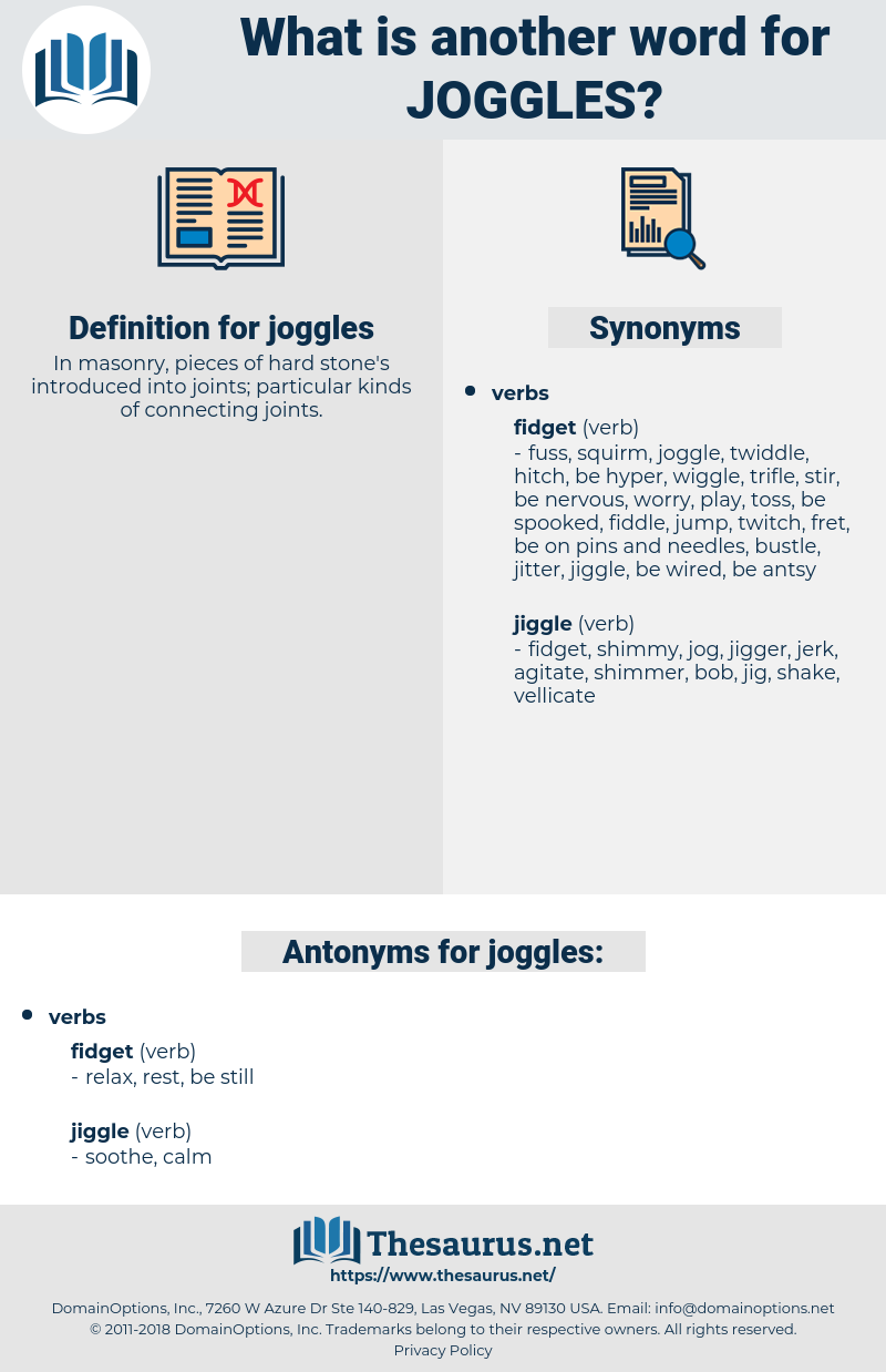 joggles, synonym joggles, another word for joggles, words like joggles, thesaurus joggles