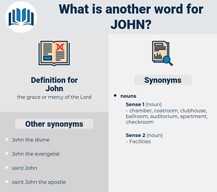 John, synonym John, another word for John, words like John, thesaurus John