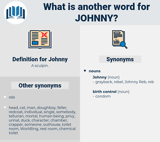 Johnny, synonym Johnny, another word for Johnny, words like Johnny, thesaurus Johnny