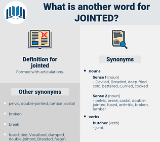 jointed, synonym jointed, another word for jointed, words like jointed, thesaurus jointed