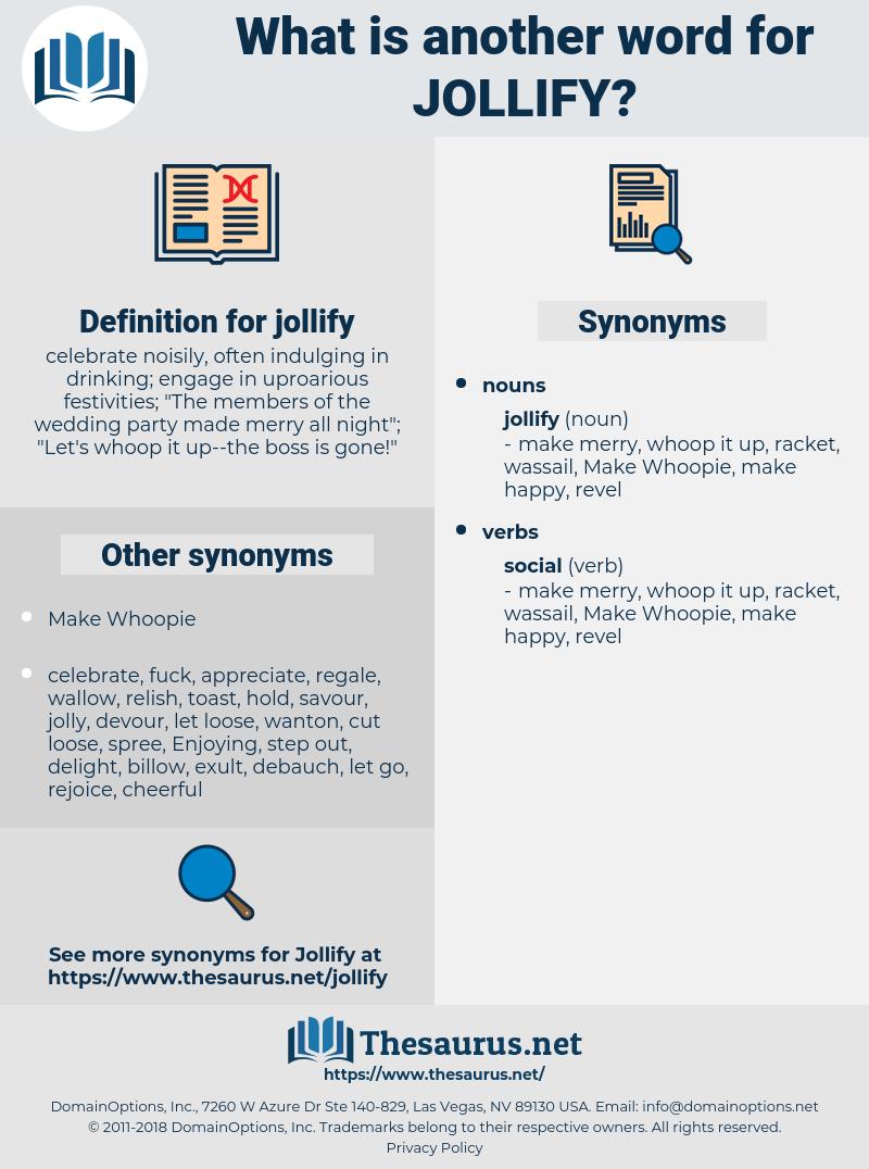 jollify, synonym jollify, another word for jollify, words like jollify, thesaurus jollify