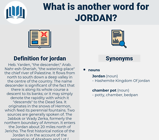 jordan, synonym jordan, another word for jordan, words like jordan, thesaurus jordan