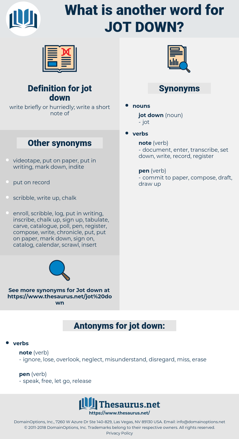 jot down, synonym jot down, another word for jot down, words like jot down, thesaurus jot down