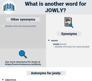 jowly, synonym jowly, another word for jowly, words like jowly, thesaurus jowly