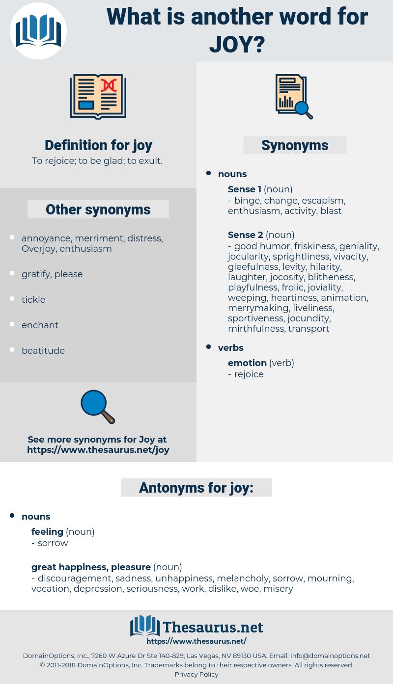 joy, synonym joy, another word for joy, words like joy, thesaurus joy