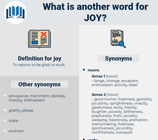 joy, synonym joy, another word for joy, words like joy, thesaurus joy
