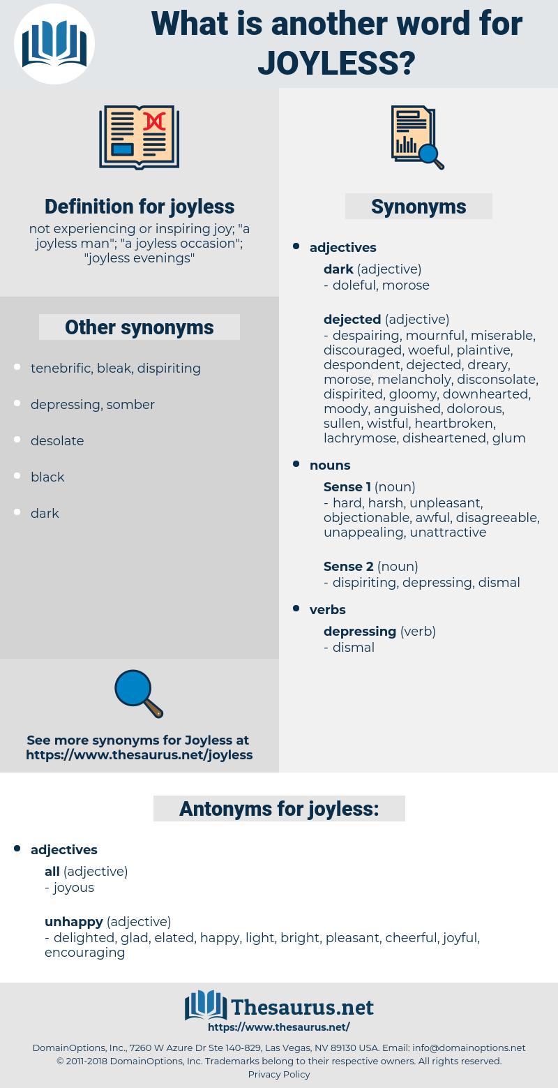 joyless, synonym joyless, another word for joyless, words like joyless, thesaurus joyless