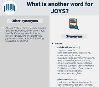 joys, synonym joys, another word for joys, words like joys, thesaurus joys