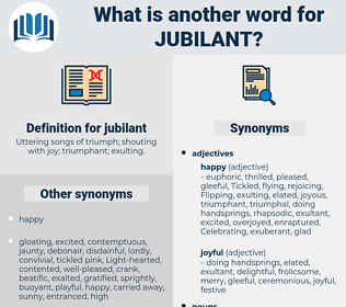 jubilant, synonym jubilant, another word for jubilant, words like jubilant, thesaurus jubilant
