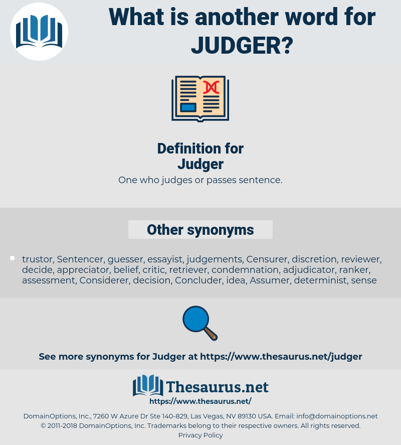 Judger, synonym Judger, another word for Judger, words like Judger, thesaurus Judger