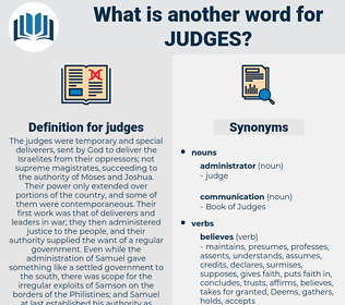 judges, synonym judges, another word for judges, words like judges, thesaurus judges