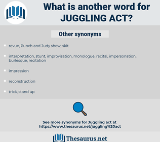juggling act, synonym juggling act, another word for juggling act, words like juggling act, thesaurus juggling act