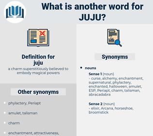 juju, synonym juju, another word for juju, words like juju, thesaurus juju