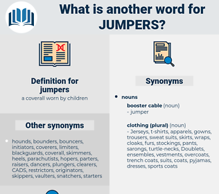 jumpers, synonym jumpers, another word for jumpers, words like jumpers, thesaurus jumpers