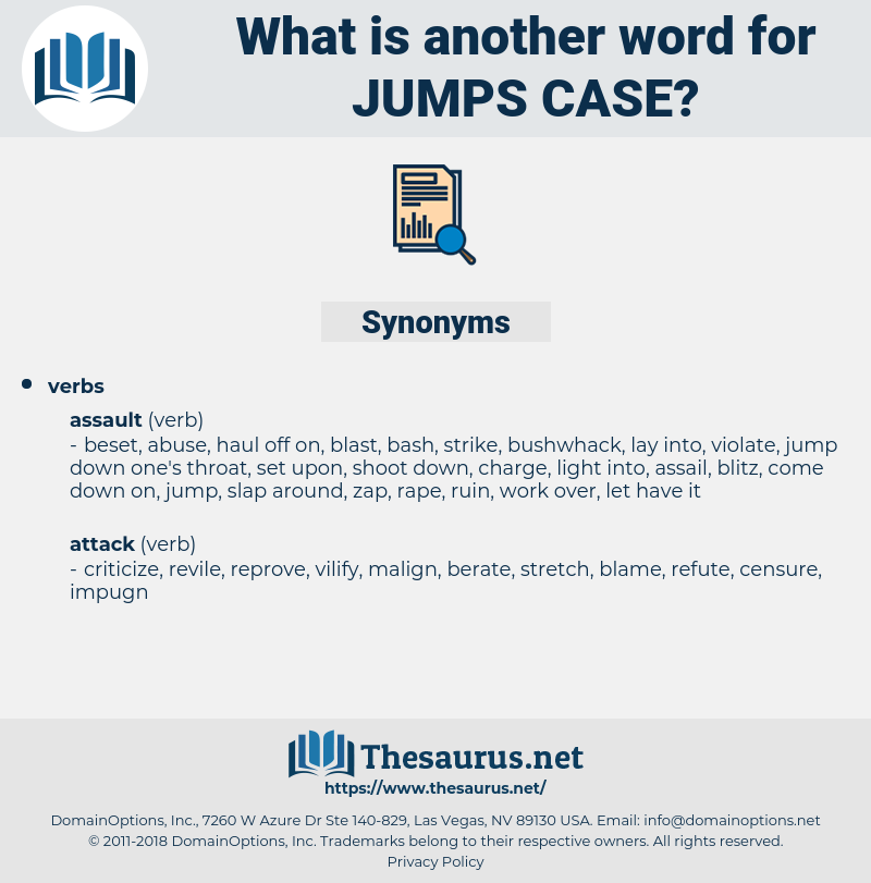 jumps case, synonym jumps case, another word for jumps case, words like jumps case, thesaurus jumps case