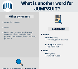 jumpsuit, synonym jumpsuit, another word for jumpsuit, words like jumpsuit, thesaurus jumpsuit