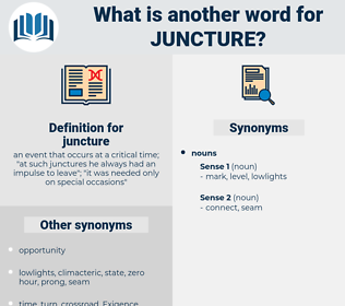 juncture, synonym juncture, another word for juncture, words like juncture, thesaurus juncture