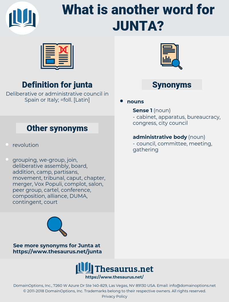 junta, synonym junta, another word for junta, words like junta, thesaurus junta