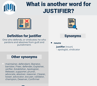 justifier, synonym justifier, another word for justifier, words like justifier, thesaurus justifier