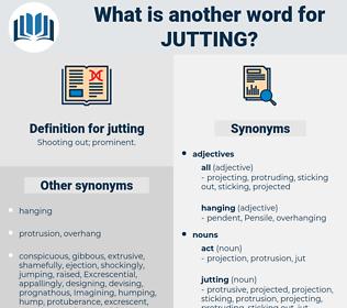 jutting, synonym jutting, another word for jutting, words like jutting, thesaurus jutting