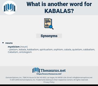 kabalas, synonym kabalas, another word for kabalas, words like kabalas, thesaurus kabalas